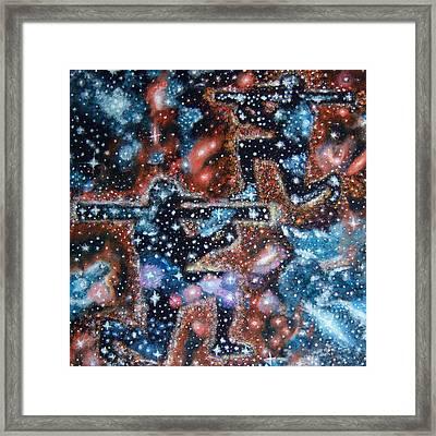 Shooting Stars Framed Print