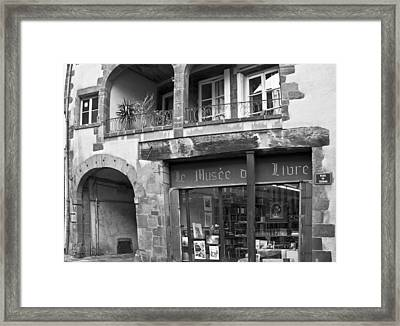 Shop Around The Corner Framed Print by Georgia Fowler
