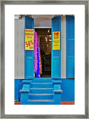 Shop New Orleans Framed Print by Christine Till