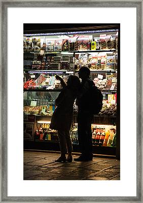 Framed Print featuring the photograph Shop by Silvia Bruno