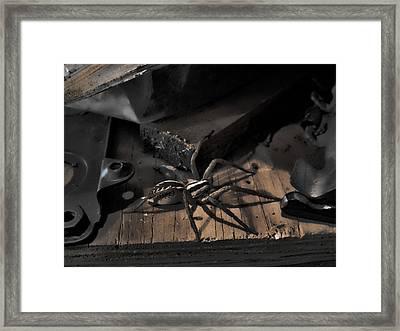 Framed Print featuring the digital art Tombstone Shadows by Robert Rhoads