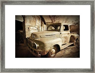 Shop Truck Framed Print