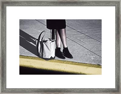 Shopper Framed Print