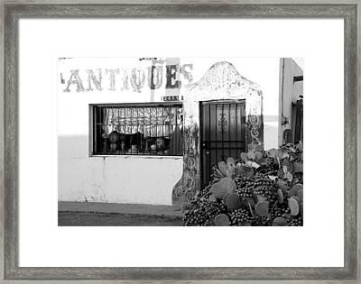 Shoppin' Las Cruces Framed Print