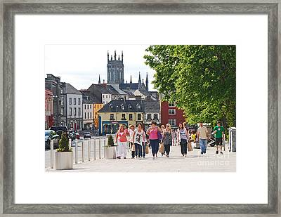 Framed Print featuring the photograph Shopping Trip by Mary Carol Story