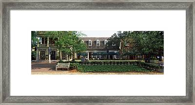 Shops At Merchants Square, Duke Framed Print by Panoramic Images
