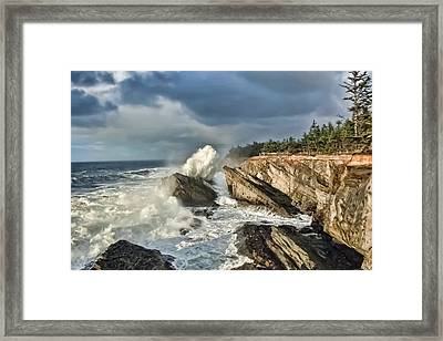 Shore Acres 12 Framed Print