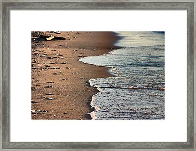 Framed Print featuring the photograph Shore by Bruce Patrick Smith