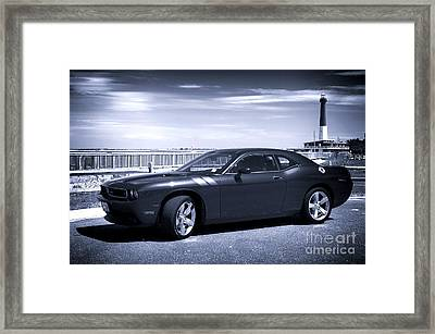 Shore Muscle Framed Print by John Rizzuto