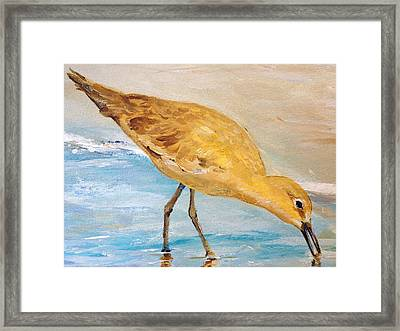 Framed Print featuring the painting Shore Patrol II by Alan Lakin