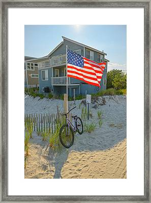 Shore Pride Framed Print