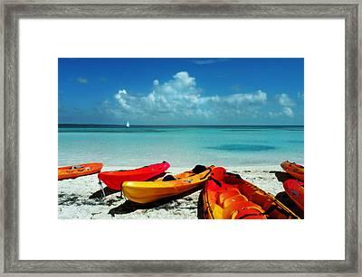 Shore Rest Framed Print