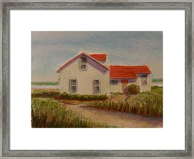 Shore Retreat Framed Print