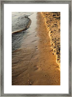 Shoreline Framed Print by BandC  Photography