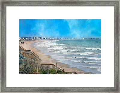 Shoreline  Framed Print by Betsy Knapp
