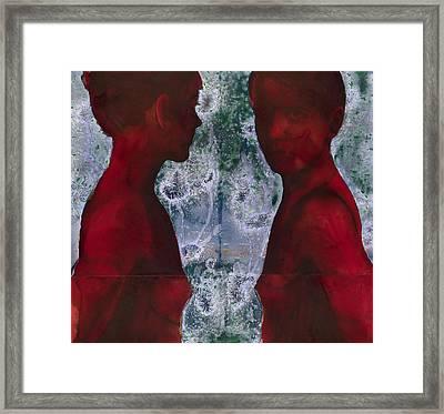 Shoreline Framed Print by Graham Dean