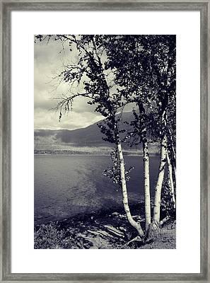 Shoreline Framed Print by Leanna Lomanski
