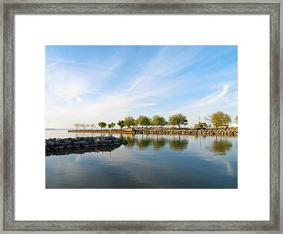 Shoreline Park Framed Print