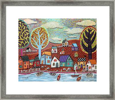 Shoreline1 Framed Print