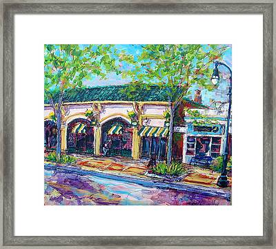 Shorewood Zen Framed Print