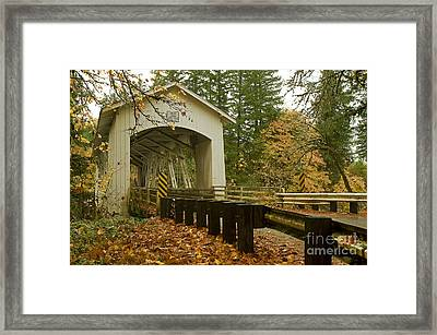 Short Covered Bridge Framed Print