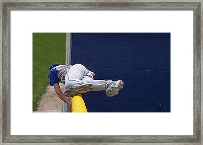 Short Cut Over The Fence Framed Print by Thomas Woolworth
