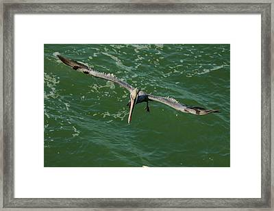 Short Final Framed Print by Frederic Vigne