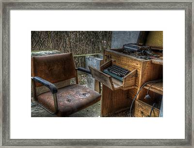 Short Hand Framed Print by Nathan Wright