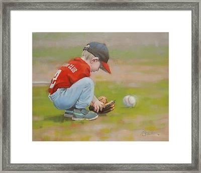 Short Shortstop Framed Print by Todd Baxter