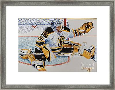 Short Side Save Framed Print by Alan Salvaggio
