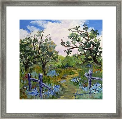Shortcut Framed Print