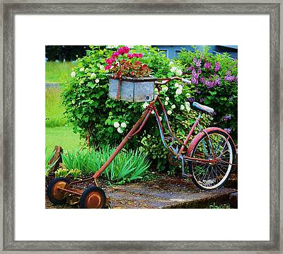 Shortcut Framed Print by Helen Carson