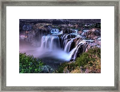 Shoshone Falls Framed Print