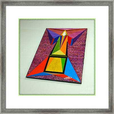 Shot Shift - Liberte 2 Framed Print by Michael Bellon