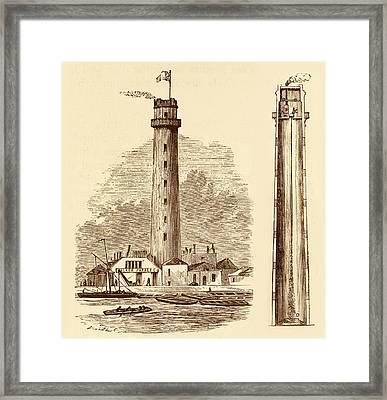 Shot Tower Framed Print