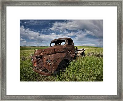 Shot Up Framed Print by Leland D Howard