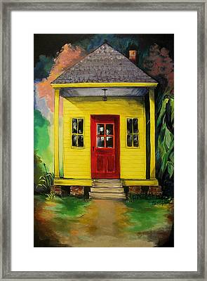 Shotgun House Framed Print