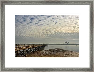 Shotley Bay Framed Print by Svetlana Sewell