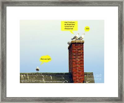 Should Have Taken Framed Print by Joe Jake Pratt