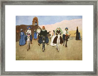 Should Women Ride Astride?, From The Framed Print by Lance Thackeray