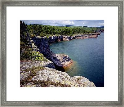 Shovel Point Framed Print by Tim Hawkins
