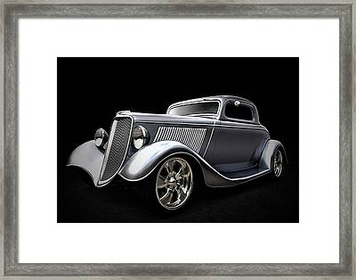 Shovel Ready Framed Print by Douglas Pittman