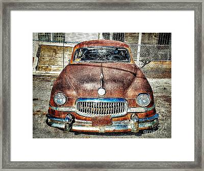 Show Me Your Grill Framed Print