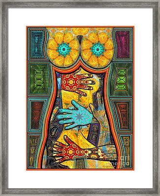 Show Of Hands Framed Print