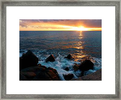 Show On Framed Print by Alessio Casula