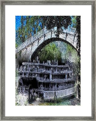 Showboat Framed Print by Kelly McManus