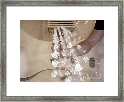 Shower Framed Print by Mats Silvan