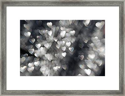 Showered In Love Framed Print