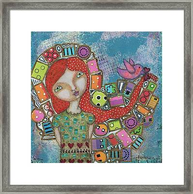 Showered With Gifts Framed Print