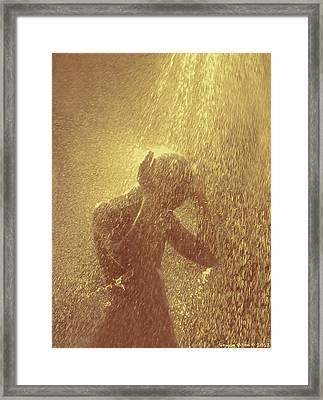 Showers Of Blessings Framed Print